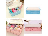 Storage Box Home Underwear Socks Bra Organizer Case Ties Bag Drawer