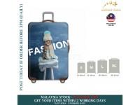 18-30'' WINTER CAT Elastic Travel Luggage Dustproof Cover Trolley Sarung Pembalut Pelindung Bagasi