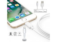 1M Lightning To USB Charging And Data Cable AAAA for Apple iPhone iPod iPad - White
