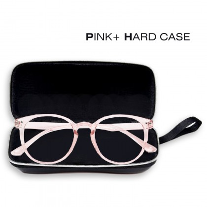 Women Spectacle Retro Round Clear Lens Glasses Spectacle Optical Frame Anti-Radiation Eyeglasses