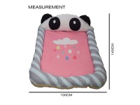 Large Pillow Floor Mat Bedroom Baby Thickening Crawling Soft Mattress Anti-Fall PANDA - Tilam Bayi Besar 140cmx100cm