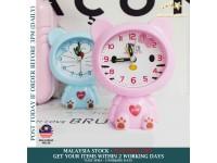 Cute Cartoon Alarm Clock Table Desk Clocks For Kids Students Bedroom Living Room - Jam Loceng Budak - Hello Kitty/ Doraemon