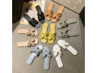 Ready Stock New Colour Women Sandals H Shaped Fashion - Casual & Beach Flat Shoes - Sandal Wanita Kasut Perempuan