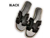 Ready Stock New Colour Women Sandals H Shaped Fashion - Casual & Beach Flat Shoes - Sandal Wanita Kasut Perempuan