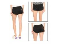 ORIGINAL Adidas Stella McCartney Chill Designer Exercise Shorts Pant for Ladies - BLACK - LARGE