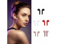 i7 Mini Bluetooth Stereo Earphones Headphone Charging USB Earbuds - DOUBLE