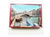 Waddingtons 750 Piece Jigsaw Rialto Bridge Venice / Ravensburger 1000 Piece Jigsaw Puzzle Remembrance Day Flypast