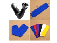 1Piece Arm Sleeves Cover UV Sun Protection Outdoor Sports Arm Warmer Breathable - Sarung Lengan BLUE