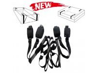 Under Bed Restraints System Bondage Strap Rope Cuffs Adult Kit Kinky Set
