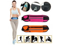 Waterproof Sports Pocket  Jogging Unisex Gym Cycling Hiking Waist Sports Bag Pouch With 3 Pockets Fanny Pack