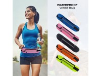 Waist Bag Breathable Small Pouch Unisex Jogging Running Hiking Sports Supply Gym Cycling With 3 Pockets