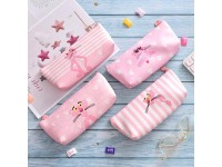 pink panther pencil case pencil case stationery bag