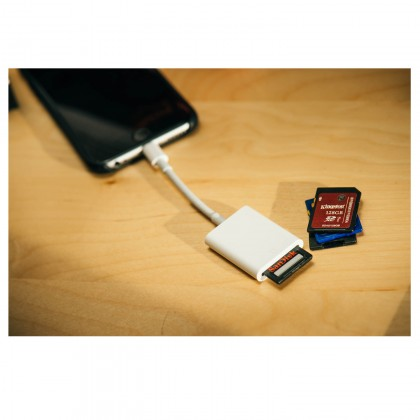 Lightning to SD Card Camera Reader Photo 8 Pin Adapter for iPhone 5 6 7 Plus iPad Mini Air