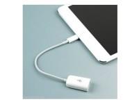 Camera Keyboard Adapter for Lightning to USB Cable OTG iPad iPhone 7 6 Plus 5 Canon Nikon Fuji MIDI Keyboard