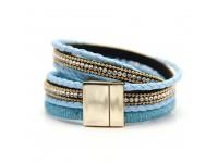 Women Lady Modern Elegant Fasion Charming Bracelet   (Blue)