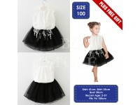 NEW Baby Toddler Girls Kids Lace Summer Clothes T-shirt Tops Skirt Dress Blouse