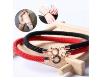 Red Line Rope Bracelet Rose Gold Lucky Couple
