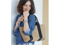 Japanese Simple Style Wind Weaving Hand Woven Shoulder Bag