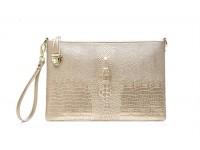 *CLEAANCE Women Fashion Crocodile Pattern Leather Handbag