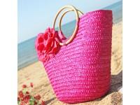 Hand-Woven Straw Beach Bag Women Handbags Bohemian Women Straw Summer Handbags Bolsas Women's Bags Travel Bags