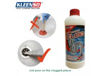 ORIGINAL Kleenso No More Clog 1000ml Drain Sink Toilet Kitchen Remover