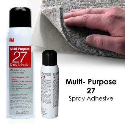 3M Multi Purpose 27 Spray Adhesive Strong Elephant Glue on Plastic Metal Wood Paper Cardboard Fabric Insulation