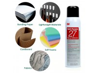 3M Multi Purpose 27 Spray Adhesive Strong Elephant Glue on Plastic Metal Wood Paper Cardboard Fabric Insulation