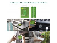 GP-Rechargable Battery 650 series