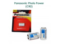 Panasonic CR2 & CR123A Lithium Battery (3V) ORIGINAL SET & OFFICIAL