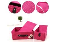 Clothes Organizer Wardrobe Storage Boxes Anti-Dust and Moisture-Proof *Malaysia Stok* Tempat Menyusun Baju Kecil