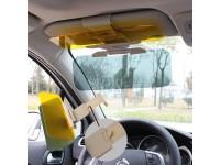 HD Vision 2 in 1 for Day & Night Anti-glare anti-glare Car mirror clip