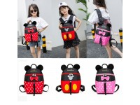 Cute Mickey Mouse Kindergarten Backpack School Bag Kids - Beg Sekolah Mickey Minnie