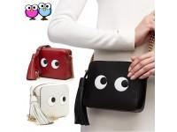 CUTE Ladies Shoulder Sling Tote Bag with strap Big Eye Fashion Casual Handbag