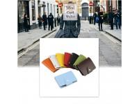 Bank Credit Card Holder Wallet for ATM Money Business IC Name Many Pocket Case