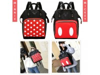 Mickey And Minnie Mouse Multifunction Backpack School Travel Picnic Shopping