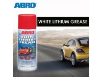 ABRO White Lithium Grease Metal Surfaces Corrosion Rust for Automative Industrial Home Marine Farm 284gm