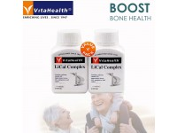 [TWIN PACKS] LiCal Complex Boost Strong Bone Health Tulang Sihat