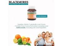 [TRIPLE PACKS] BLACKMORES Buffered C Slow Release Vitamin C Body Health Stress Bioflavonoids Rutin