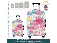 18-32'' Denim 3D DIAMOND COLOURFUL ELEGANT Elastic Travel Luggage Dustproof Cover Trolley Case Suitcase Protector