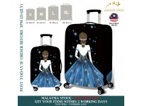 18-32'' Denim 3D LADY STARS JEANS  Elastic Travel Luggage Dustproof Cover Trolley Case Suitcase Protector