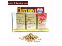 STAY-WELL Active Q Ubiquinol 100mg VALUE PACK, 30 soft gels x 2 bottles + FOC 30 soft gels