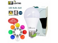 FF Lighting E27 Bulb LED 10W Warm White Lamp for Bedroom or Livingroom Lamps Lampu Mentol FREE Colour Bulb