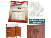 Self Adhesive Clear Bumpers Door Buffer Pad for Proctect Your Wall 22mm