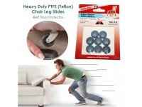 Self Adhesive Anti Scratch Teflon-Gliders Furniture for Table Chair Floor Protector 22mm