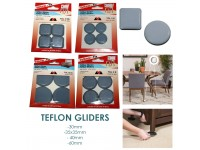 Self Adhesive Anti Scratch Teflon-Gliders Furniture for Table Chair Floor Protector