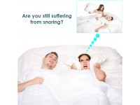 Stop Snoring Silicone Anti Snore Nose Clip Sleep Apnea Breathing FREE Box
