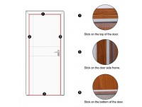 3M Universal Weather Stripping Rubber Seal StripTape Door Windows Self-Adhesive Weatherproof