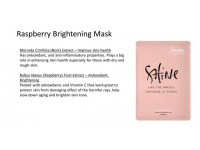 Jayeon Raspberry Brightening Mask (Peach) - Shine Like The Whole Universe Is Yours Made in Korea