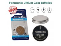 CR2450 Panasonic Lithium Coin Batteries Battery 3V for Car key Watch Calculator Bateri