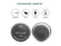 CR2450 Panasonic Lithium Coin Batteries Battery 3V for Car key Watch Calculator Bateri